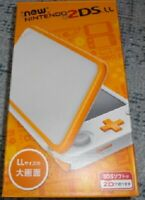 New Nintendo 2DS LL XL console White x Orange Japan NEW