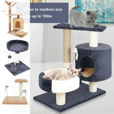 New listing ScratchMe Cat Tree Condo Climbing Tower w/ Hammock Scratching Post and ���