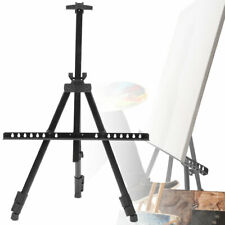 Sketch Easel Tripod Thick Metal Folding Iron Adjustable for Painting with Bag US