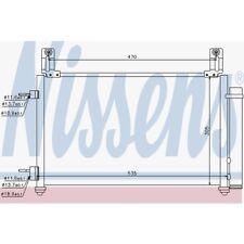 Nissens Kondensator, Klimaanlage Chevrolet Matiz, 940009 Chevrolet