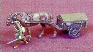Remorque d'infanterie hippomobile, France 40, 1:72 ALBY résine