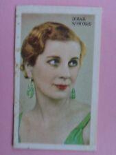 Cigarette Card , Diana Wynyard, Vintage Screen & Stage