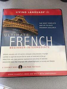 Living Language Ultimate French (8 Compact Discs) Beginner-Intermediate Program