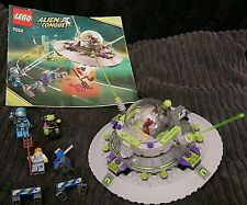 LEGO 7052 ALIEN CONQUEST - UFO ABDUCTION - UNBOXED 100% Complete.+ INSTRUCTIONS