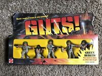 1986 GUTS Green Berets Vintage Action Figures by Mattel NEW SEALED