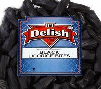 Black Licorice Bits by Its Delish, 5 lbs Bulk