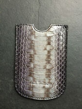 Paul Smith Grey/Blue Snake Skin  iPhone Case Brand New