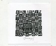 Ex Libris b 1065 Tranquillo Marangoni 1974