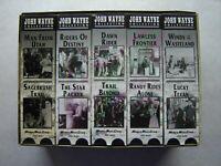 John Wayne Collection Box Set (VHS, 1994) 9 Of 10 Tapes, Madacy
