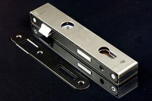 Einsteckschloss 90 / 22 mm mit Schlosskasten 40 und Gegenplatte PZ