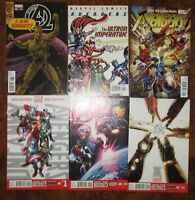 New Avengers MARVEL Lot Ultron Imperative Uncanny 1 Hickman Bendis Groot Variant