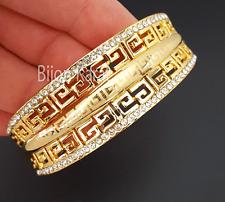 Gold Bangles Bangle Bracelet 22 Ayar Altin Kaplama Bracelet Gelin Swarovski