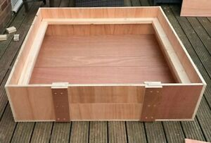 """Whelping Box - 48""""x48""""x12"""" With Rails + Free delivery"""