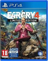 PS4 PlayStation Far Cry 4 MINT - 1st Class FAST & FREE Delivery