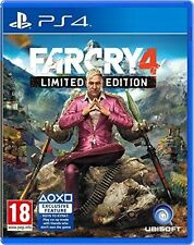 PS4 PlayStation Far Cry 4 MINT - 1st Class Delivery