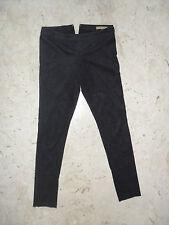 Pantalone Leggings Skinny SILVIAN HEACH Tg. S in Eco Alcantara COMPRALO SUBITO