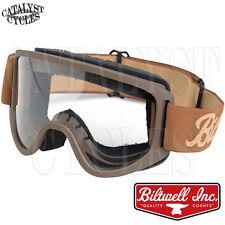 Biltwell Moto 2.0 Goggles Motorcycle Goggles Biltwell Goggles | M2-LOG-CO-SD