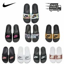 Womens NIKE Benassi JDI Slide Print Sandals Sliders Flip Flops Slippers NEW