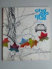 Porsche Hauszeitschrift Christophorus Nr. 62 1963 mit 356 Polizeifahrzeug