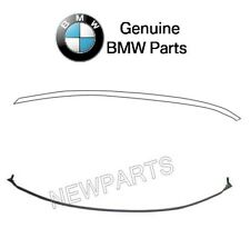 For BMW 7-Series E65 E66 Pair Set of Rear Upper & Lower Windshield Mouldings OES