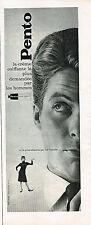 PUBLICITE ADVERTISING 035  1964   PENTO   creme coiffante