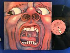 KING CRIMSON IN THE COURT ILPS 9111 A2/B4 ORIGINAL UK LP EXC+