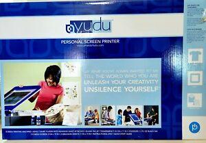 BRAND NEW Yudu Personal Screen Printer T-shirt & More Screen Printing Machine