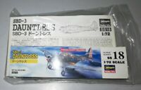 Douglas SBD-3 Dauntless  - Hasegawa - 1/72 - injection