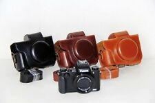 Leather Camera case bag Cover For Canon Powershot G5 X (G5X)