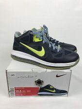 4f63a31fb4e0c 2012 Nike LeBron 9 Low Sneakers Size 10.5 W Box 510811-401