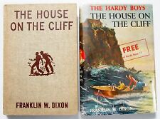 Hardy Boys #2 THE HOUSE ON THE CLIFF dj w/ FREE OFFER v.scarce