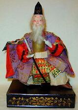 Vintage Japanese Gofun Samurai Armor Warrior Doll IV