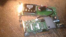 LSI MR SAS 9266-4i RAID CONTROLLER CARD with CACHE VAULT and BATTERY CARD