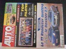 **c Revue Auto Hebdo n°1215 F1 rétrospective 1999 - Toyota stoppe le TTE