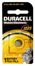72 Duracell DL1025 CR1025-1025 3V Batteries Watch Electronic Cell Power Preserve
