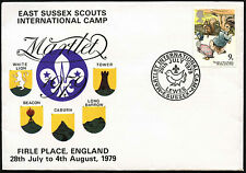 GB 1979 East Sussex Scouts International Camp Cover #C41186