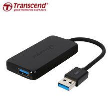 Transcend Information Super Speed USB 3.0 4-Port Hub (TS-HUB2K) Black