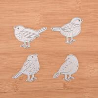 Four bird Metal DIY Cutting Dies Stencil Scrapbook Album Paper Card Emboss Z xd