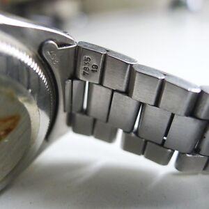 Bracelet Rolex Oyster Ref. 7835 19mm original vintage 257