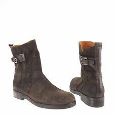 Alberto Fermani Cori Womens Shoes Dark Brown Suede Ankle Boots Sz EU 41 NEW $475