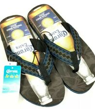 OFFICIAL CORONA EXTRA BEER Men's XL 12-13 Flip Flops Sandals New With Tags
