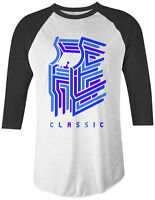 Classic Arcade Video Game Unisex Raglan T-Shirt Old School Gamer