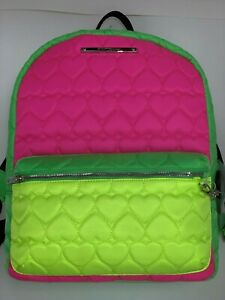 Luv Betsey Betsey Johnson Backpack Logo Embroidered Heart Backpack new, no tag