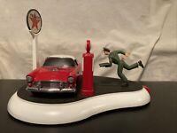 Franklin Mint Texaco Service With A Smile 1955 Thunderbird Mechanical Bank