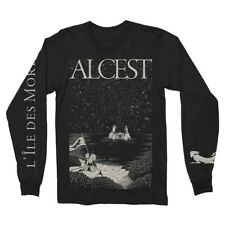 Authentic ALCEST Island Long Sleeve T-Shirt Black S-2XL NEW