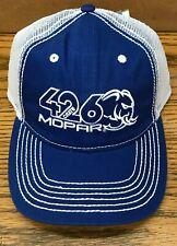 MOPAR  HELLEPHANT 426 BLUE/WHITE MESH HAT