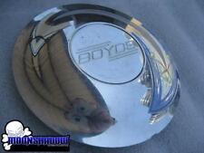 """1 USED BOYD CODDINGTON BOYDS CUSTOM WHEELS RIM 6-1/4"""" POLISHED CENTER CAP"""