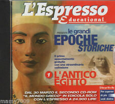 CD ROM = large historical periods = The Ancient Egypt = the Express Educational 2001