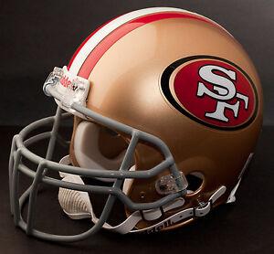 RANDY MOSS Edition SAN FRANCISCO 49ers Riddell REPLICA Football Helmet