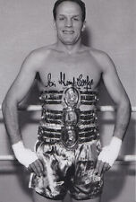 Sir Henry Cooper Hand Signed Photo 12x8 1.